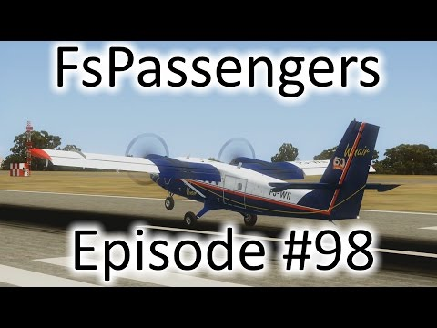 FSX | FsPassengers - Ep. #98 - We Bought a Twin Otter (St. Croix) | DHC-6-300