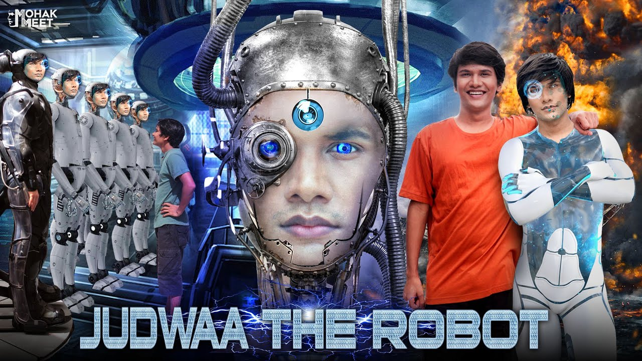 JUDWAA THE ROBOT : जुड़वा रोबोट SHORT FILM | ACTION - SCI-FI | #Funny #Bloopers || MOHAK MEET