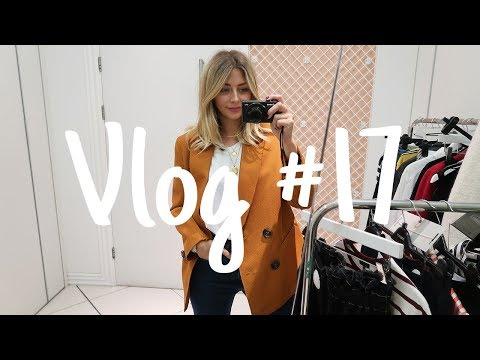 Vlog #17 | Getting My Hair Done & Topshop Personal Shopping