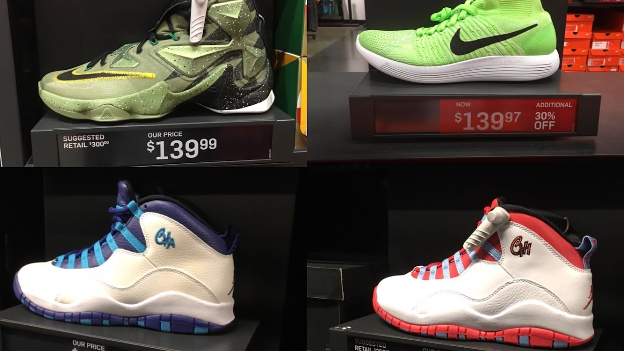TORONTO NIKE OUTLET STEALS AND DEALS!