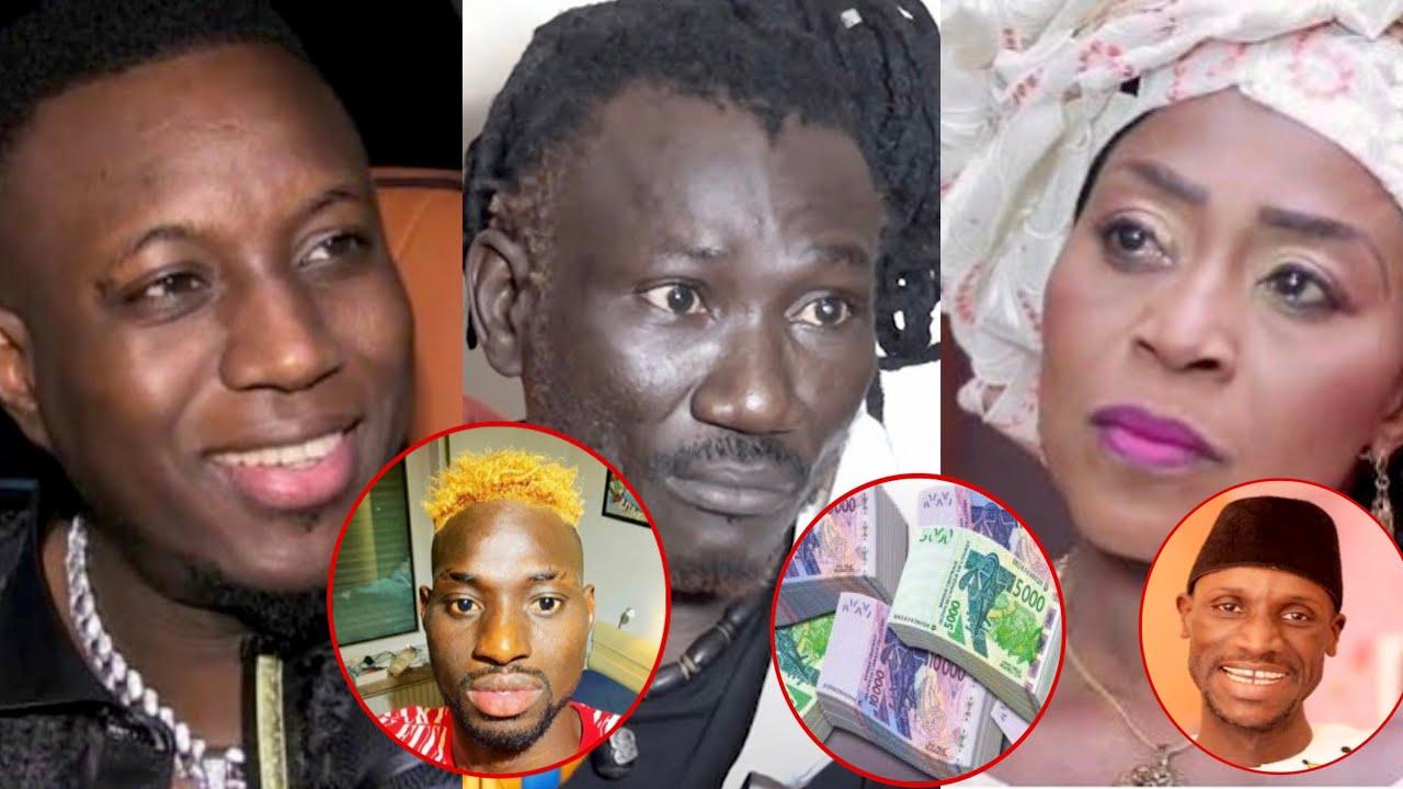 Annoncée morte,Ndeye Coumba brise le silence,Mo Gates donne 500.000fca à Baye Fall et les….