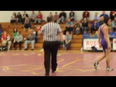 Wrestling 7 - Apple Valley Middle School vs Rugby Middle School