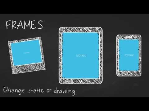 Chalk Alphabet and Elements (VideoHive AE Template)