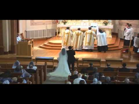 Solemn High Traditional Catholic Latin Mass Wedding