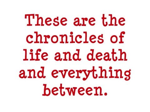 The Chronicles of Life and Death - Good Charlotte LYRICS