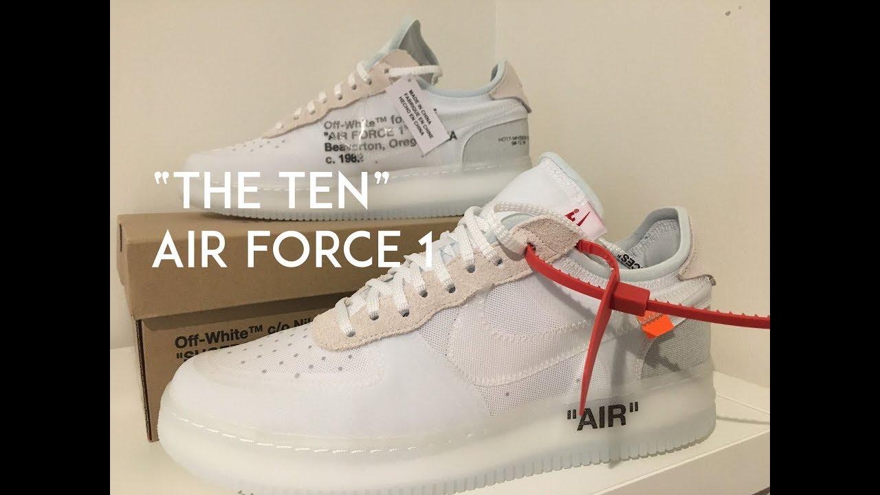 the ten air force 1