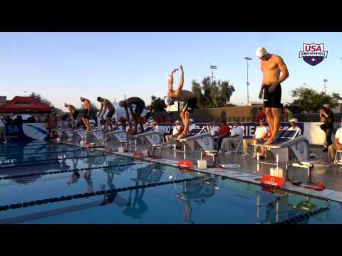 Arena Pro Swim Series at Mesa: Men's 100m Free A Final