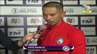 Liga Super Malaysia 2017: Pahang VS JDT - Komen Jurulatih & Kapten Pasukan [11 July 2017]