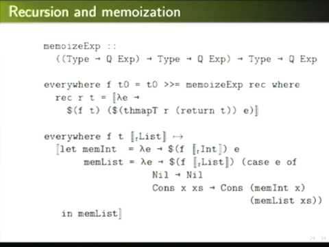 Haskell Symposium 2012. Michael Adams: Template your Boilerplate ...