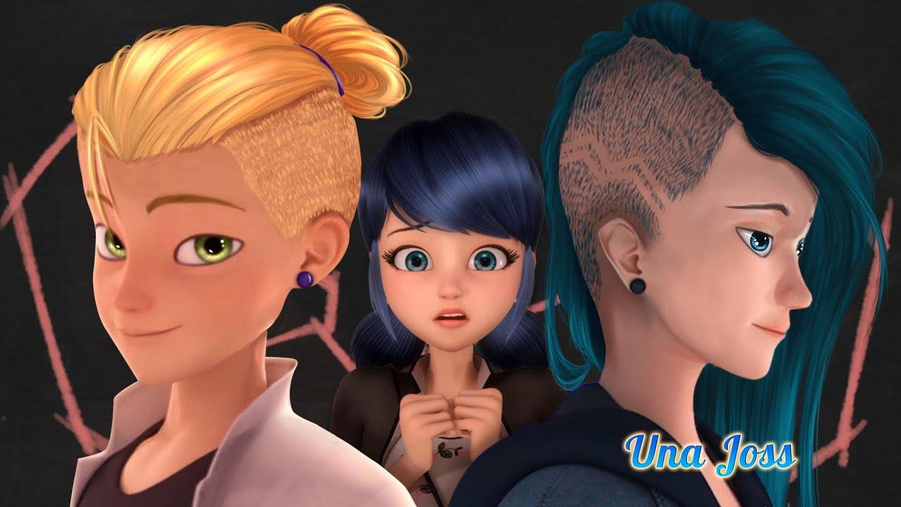 Una Joss Edit   The Miraculous Love Triangle Adrinette or Lukanett?   New Style for Luka & Adriene