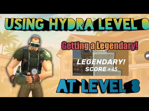 Hydra Gameplays In In Low Levels! || Getting A Legendary! || Guns Of Boom