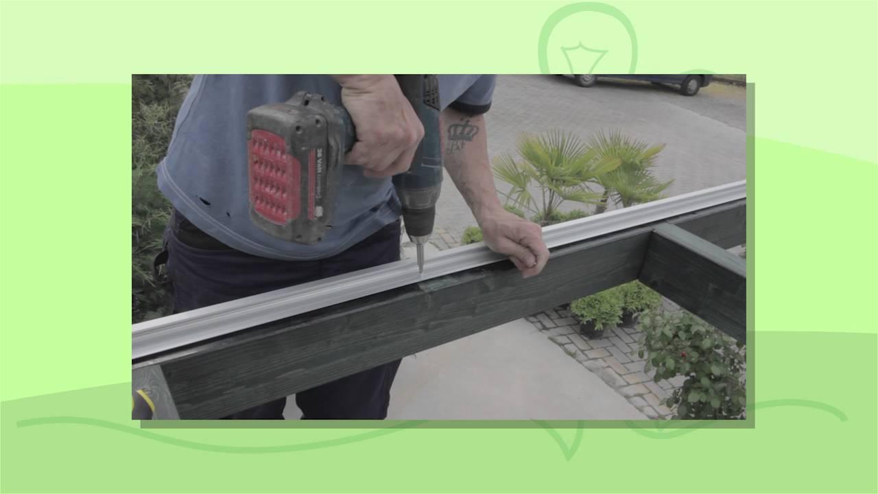 Coperture Gazebo In Policarbonato pergola, copertura con pannelli in policarbonato trasparente spessore 3mm