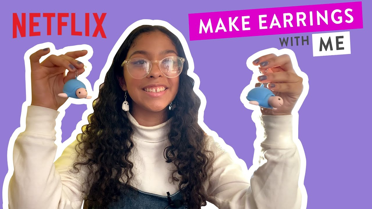 Make Earrings with Madison Reyes | Julie and the Phantoms | Netflix Futures