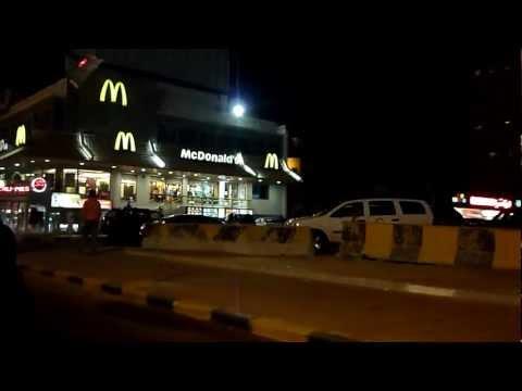 Driving in Al-Salmiya, Kuwait