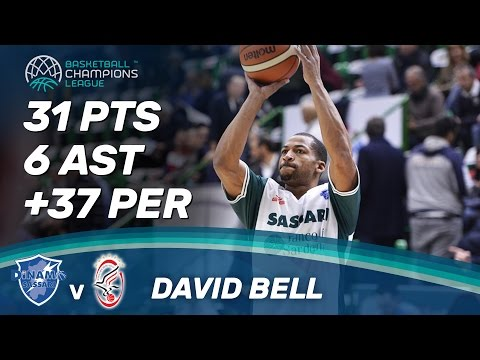 David Bell (31 Pts / 6 Ast) scores and scores vs. Szolnoki Olaj