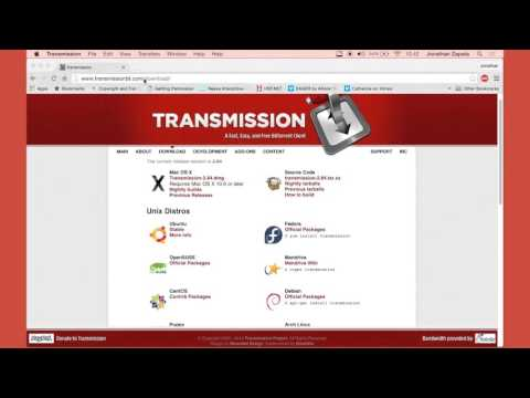 How to Torrent on Mac OS X using Transmission (Simple Fast and Easy Tutorial)