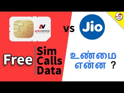 AeroVoyce - 🔥🔥 Free Sim , Free Calls , Free Data  Vs JIO ? Truth | Tamil Tech