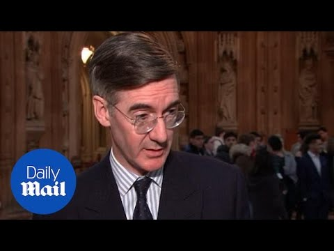 Rees-Mogg says he'll be surprised if Brexit deal goes through.
