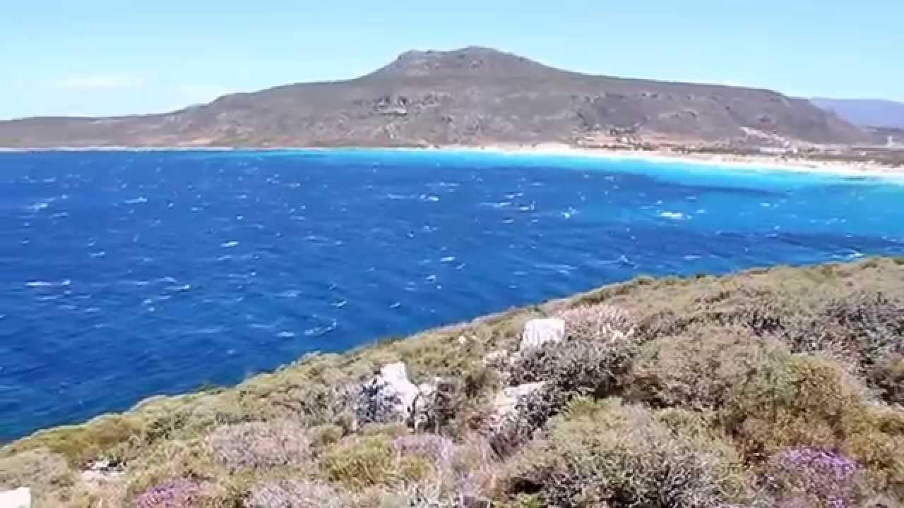 vista al mar desde playa simos elafonisos