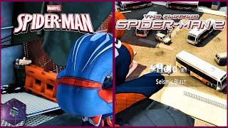 Spiderman vs The Amazing Spiderman 2 4K Mod Comparison | PS4 Pro vs PC | 4K 60FPS