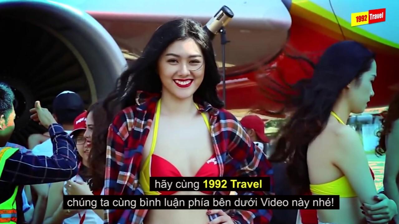 VIETJET AIR   Top 5 Điều Thú Vị Về Hãng Hàng Không Bikini VietJet Air