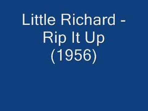 Little Richard - Rip It Up (1956)