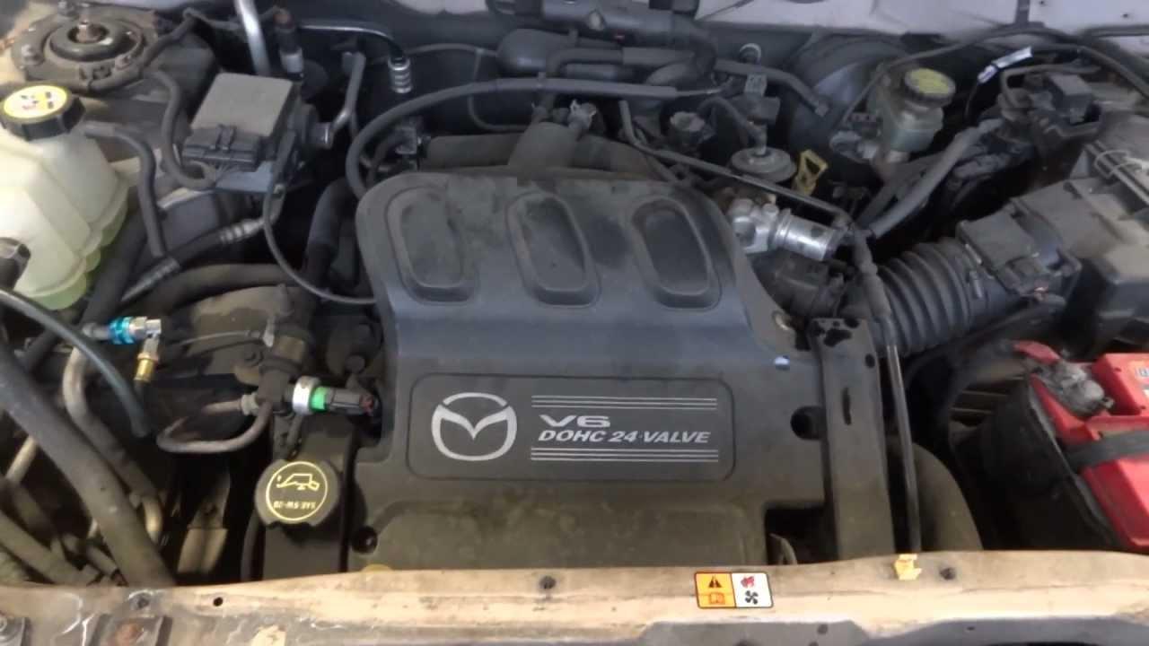 Ac Plug Wiring Diagram 2002 Mazda Tribute 3 0l Engine With 69k Miles Youtube