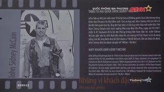 Sự nhân đạo của Việt Nam dành cho giặc lái Mỹ John McCain