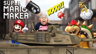 IT'S WAR TIME UP IN THIS B#TCH!!! [SUPER MARIO MAKER] [#86]