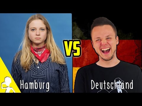 Normal Germans VS Hamburg Germans | Get Germanized w/ KleinAberHannah