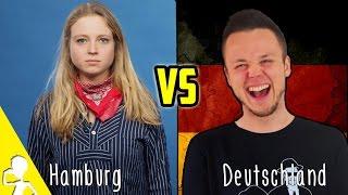 Normal Germans VS Hamburg Germans | Get Germanized w/ KleinAberHannah