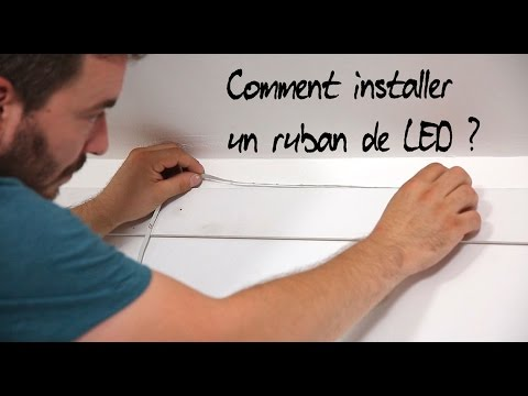 comment installer un ruban de led youtube. Black Bedroom Furniture Sets. Home Design Ideas