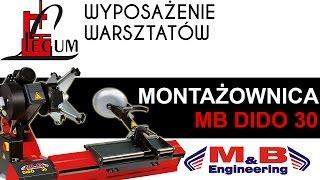 Montażownica do opon ciężarowych MB DIDO 30