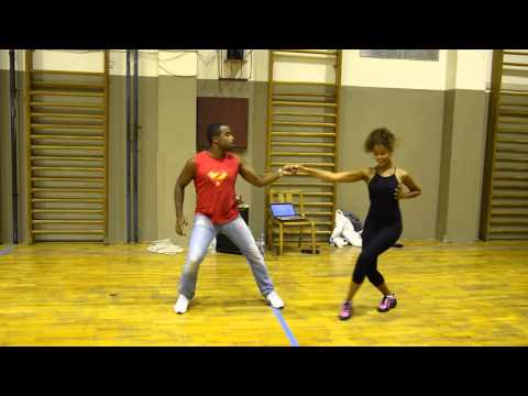 Carlos and Fernanda da Silva - Brazilian Zouk demo in Prague!!!