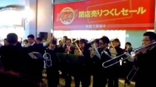 神戸阪急閉店セレモニー 2012.3.11