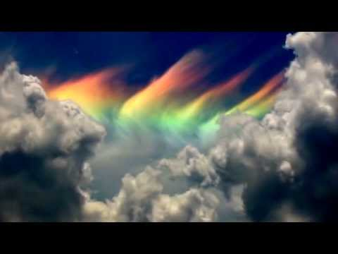 Fire Rainbow Cloud WOW! Rare Weather Phenomenon  over Rybnik/Poland