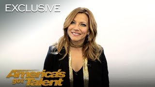 Martina McBride Recalls Her Golden Buzzer Moment - America's Got Talent 2018