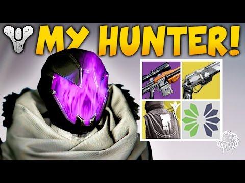 Destiny: MY LEVEL 400 HUNTER! Rarest Items, Favorite Exotics, Best Weapons & Armor  (Rise of Iron)