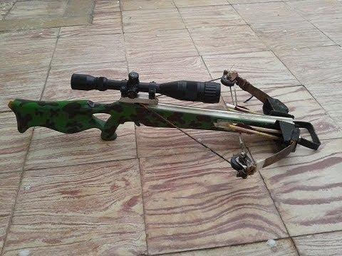 homemade compound crossbow