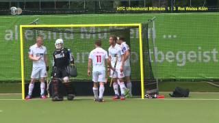 1. Feldhockey-Bundesliga Herren HTCU vs. RWK 1:8 21.06.15