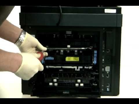 Dell 2335DN Fuser Error, Low Heat Error, or Paper Jam 1