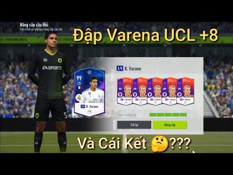 FIFA Online 4 : Màn Đập Thẻ Hóa Vàng Cầu Thủ Raphael Varane 19UCL +8 Và Cái Kết?