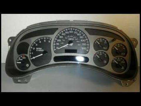 GM vehicle instrument cluster fix (GMC, Chevrolet, etc)