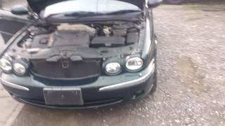 Видео-тест автомобиля Jaguar X-Type (Sajkc51l12wc21133 2001г)