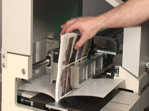 The Sterling Digibinder Plus, Automatic Perfect Binder