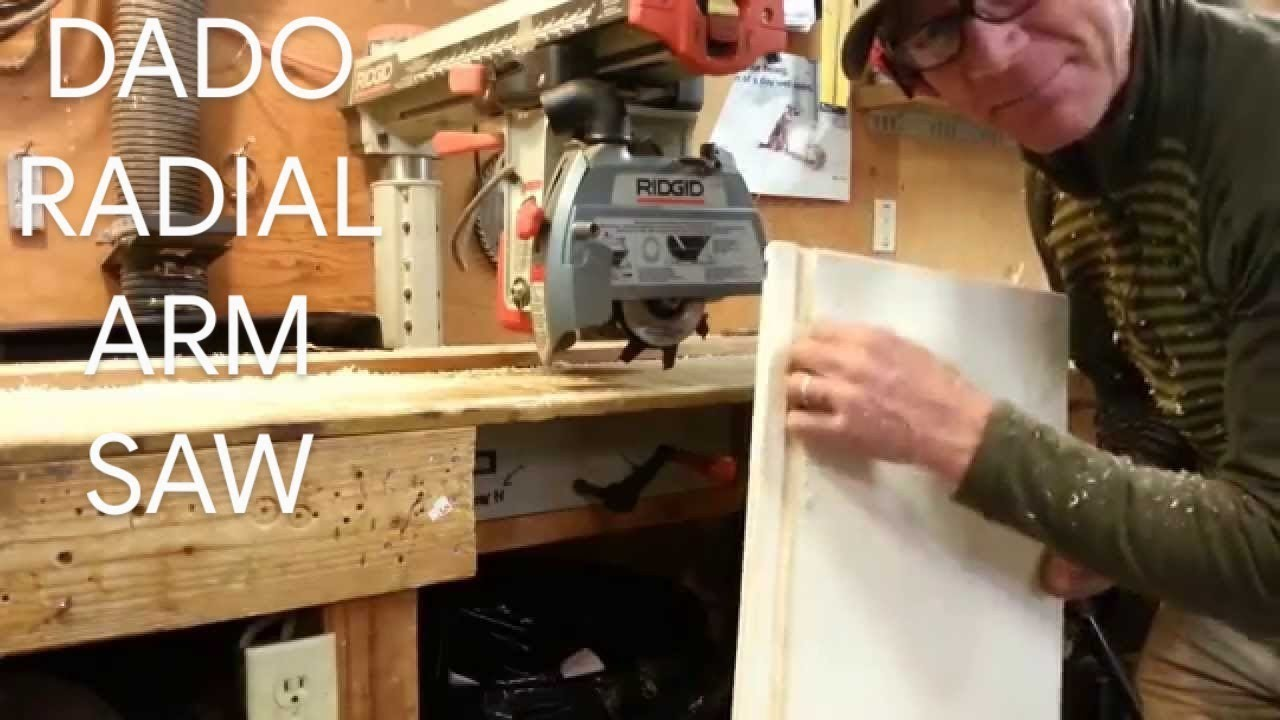 How to dado using the radial arm saw rip position youtube how to dado using the radial arm saw rip position greentooth Gallery