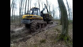 Wycinka pod S6 #  Ponsse Ergo & Elephant skogsmaskiner