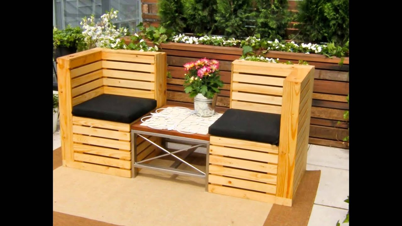 Pallet Furniture Pictures Pallet Furniture Youtube