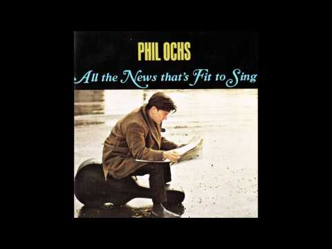 Phil Ochs - All the News That's Fit To Sing (1964) [Full album]