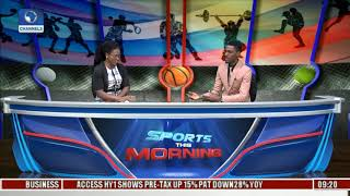 Update On FIBA Women's Afrobasket, Adekuoroye's Victory Pt.1  Sports This Morning 